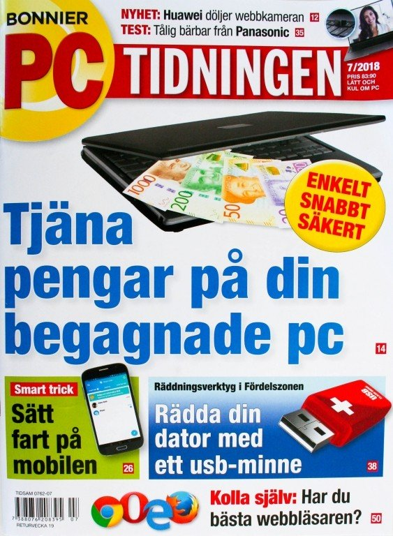 PC-Tidningen prenumeration