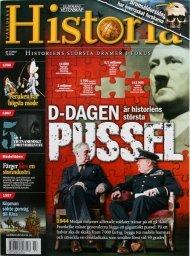 Världens Historia prenumerera