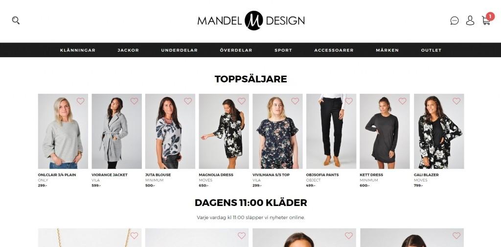 Mandel Design Rabattkod
