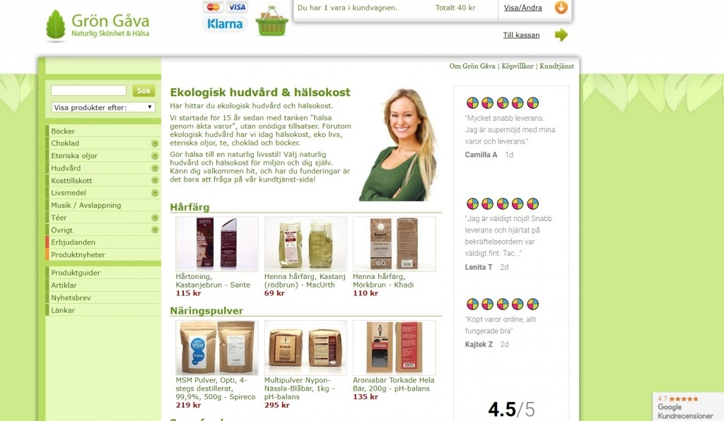 Grön Gåva Rabattkod