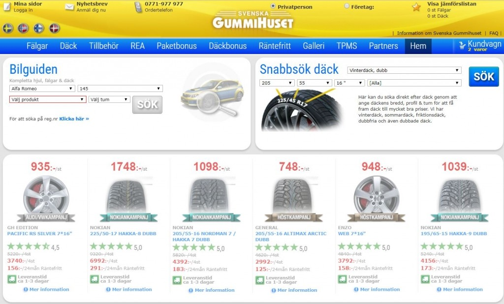 Svenska Gummihuset Rabattkod