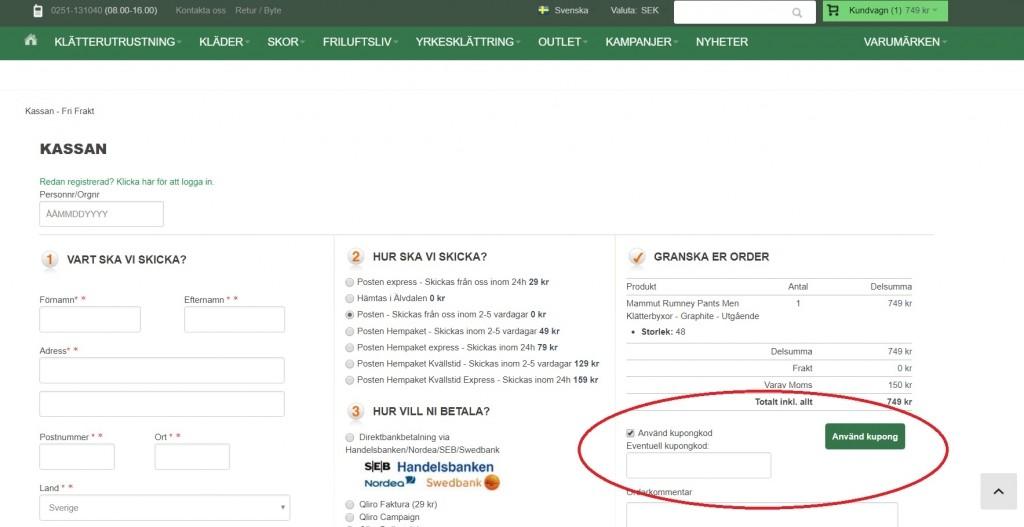 1fdbd54636f Kupongkod som fungerar för Climing247 - Juni 2019 - Kampanj.com